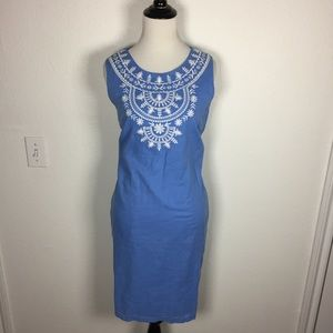 NWT Talbots Embroidered Dress size 12 Petite